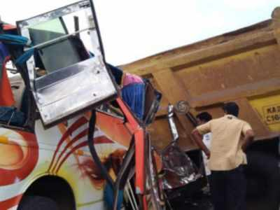 13 killed in Karnataka road mishap, PM Narendra Modi condoles deaths