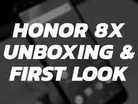 Honor 8X: Unboxing & first look