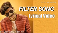 Haryanvi Song Lyrical 'Filter Shot' Sung By Gulzaar Chhaniwala