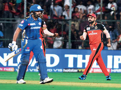 Virat Kohli, Rohit Sharma to match wits this evening as MI face RCB in much-awaited IPL clash