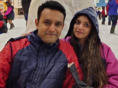 Mumbai couple falsely convicted in Qatar for carrying drugs return home with daughter