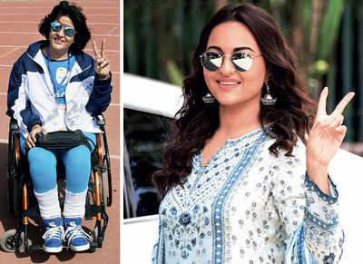 Sonakshi Sinha to star in Paralympic champion Deepa Malik biopic?