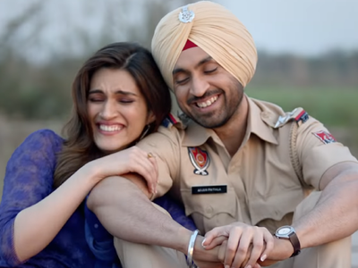 Arjun Patiala movie review: Diljit Dosanjh, Kriti Sanon's film hopes to parody clichéd construct of most romcoms