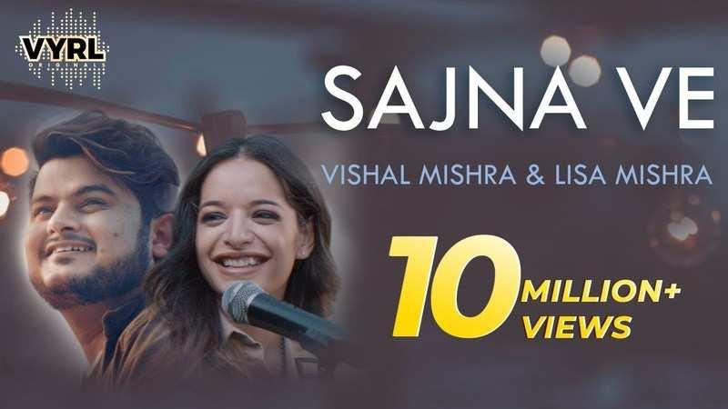 Latest Hindi Song Sajna Ve Sung By Vishal Mishra And Lisa Mishra Hindi Video Songs Times Of India