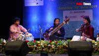Sitar, Violin and Tabala jugalbandi at Swar Malhar music festival