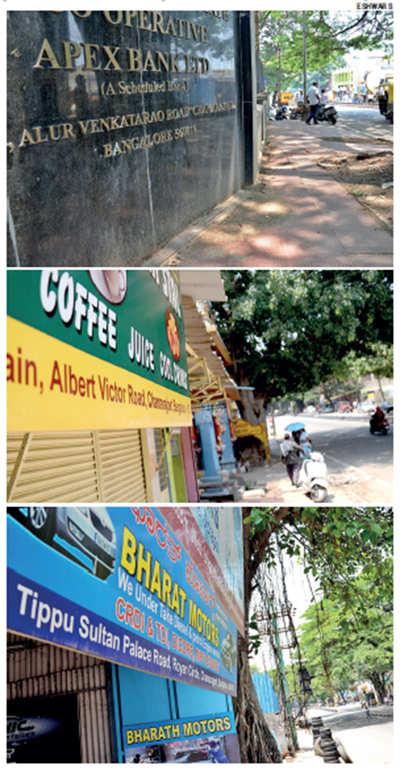 Street brawl over Tipu: One road, three names