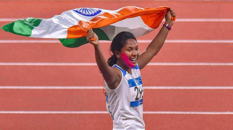 Swapna Barman becomes India's first Asian Games gold medal-winning woman heptathlete