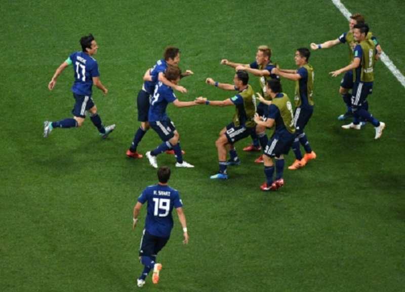 Belgium wins over Japan