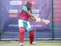 West Indies train ahead of World Cup clash against India