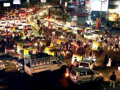 Ahmedabad traffic woes resurface as city comes back on slow track