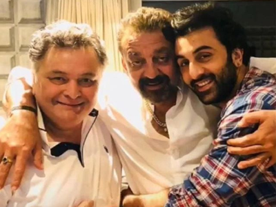 Sanjay Dutt remembers Rishi Kapoor, shares a throwback picture: Can't believe he is gone
