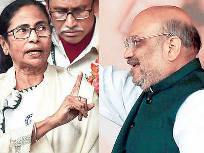 Mamata fanned fears, incited CAA riots: Shah