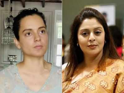 Nagma: Why hasn't Kangana Ranaut been summoned by NCB?