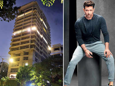 Hrithik Roshan buys two apartments spread over 38,000 sq.ft, pays Rs 97.50 crore