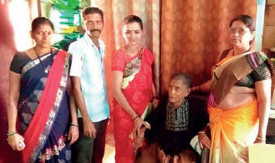 65-yr-old reunited with family after 45 yrs