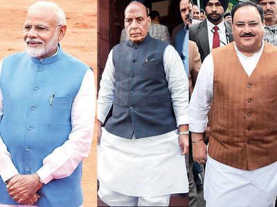 PM Narendra Modi, Amit Shah, Nirmala Sitharaman among others attend JP Nadda's son Girish's wedding