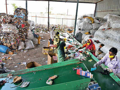 Farmer rescues his village with a garbage plant