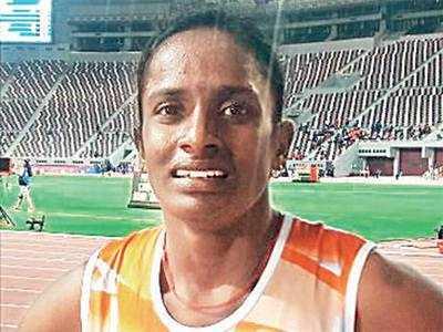 Gomathi Marimuthu wins gold for India