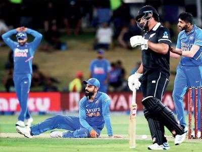 India suffer first ODI whitewash in 22 years against New Zealand