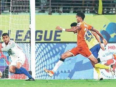 Goa beat Kerala in injury-time