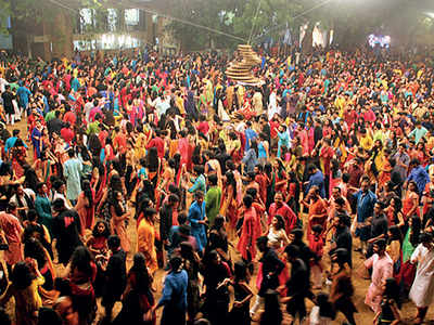 No entry for outsiders to CEPT garba