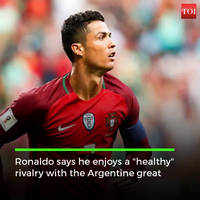 Lionel Messi made me a better player: Cristiano Ronaldo