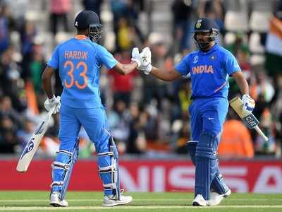 Cricket World Cup 2019: Rohit Sharma's unbeaten century powers India to victory over South Africa
