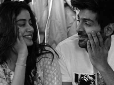 What's cooking between Kartik Aaryan, Janhvi Kapoor?