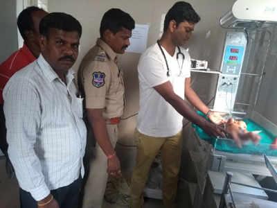 Telangana: Good Samaritans save newborn baby abandoned in well