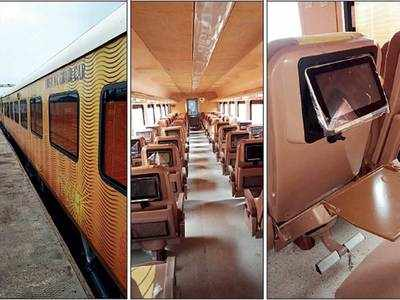 First look at Ahmedabad-Mumbai Tejas Express