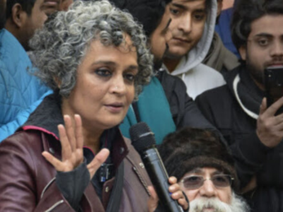 Lawyer files complaint against Arundhati Roy for urging people to give false information for NPR