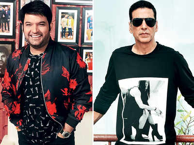 Akshay Kumar's early morning laughter club with Kapil Sharma