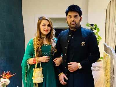Kapil Sharma, Ginni Chatrath's baby shower: A sneak peek from the couple's exciting party