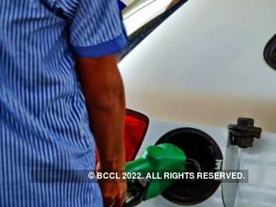 Fuel price rise paused on Monday after rising for two days