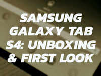 Samsung Galaxy Tab S4: Unboxing & first look