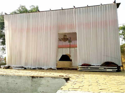 Shrine built in Dehu Road graveyard creates stir within community