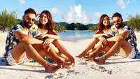 Anushka Sharma and Virat Kohli's beach date pic in West Indies is all about smiles!