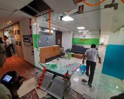 Watch: Shiv Sena leaders vandalise IFFCO Tokio Insurance Company's office in Pune