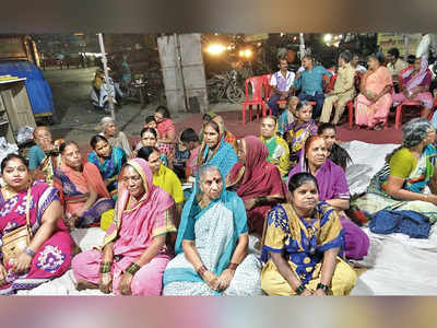 Women residents' protest enters Day 101
