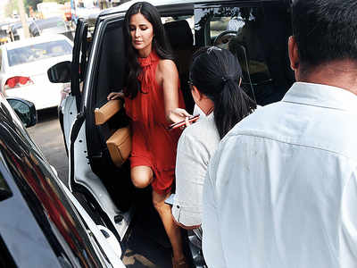 Spotted: Katrina Kaif steps out in style for a chat show