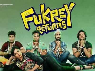 Fukrey Returns stars promote film at Mumbai Metro station