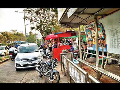 Wakdewadi suffers due to illegal parking