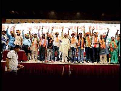 Rajkot Youth Cong chief, NSUI district prez join BJP in presence of CM