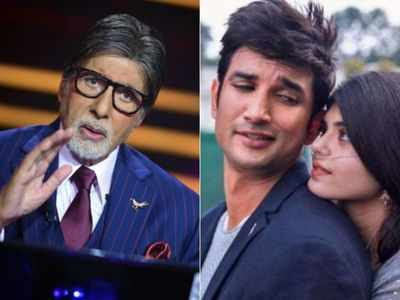 KBC 12: Amitabh Bachchan asks contestant a question on Sushant Singh Rajput's film Dil Bechara