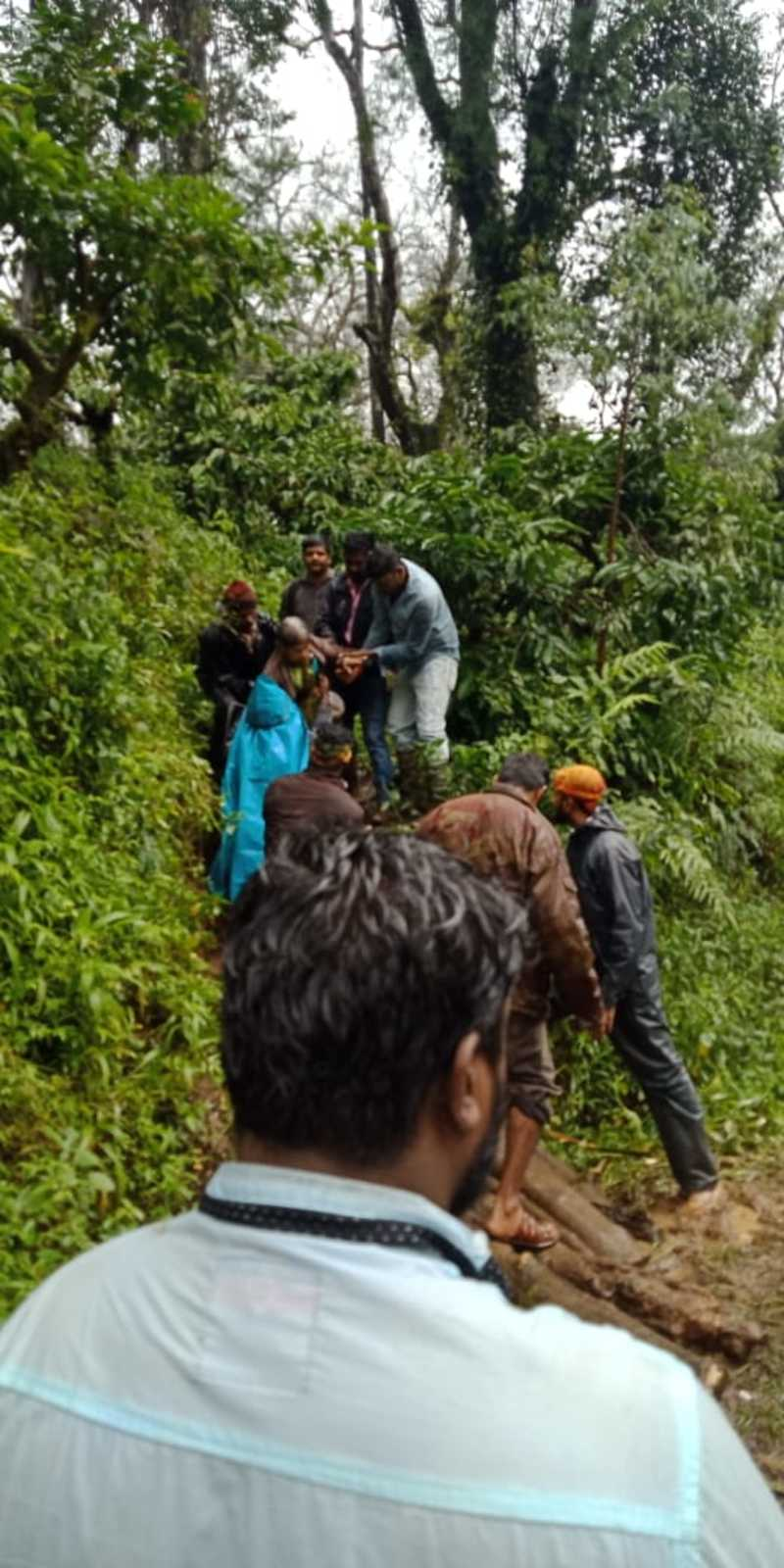 Rescuers save 180 people from Jodupala of Kodagu district
