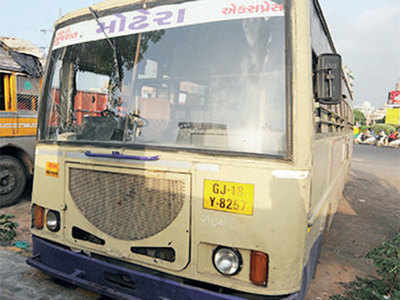 ST bus mows down b'day boy, joy turns to mourning