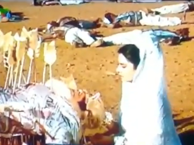 Video of dead soldier coming back to life in BR Chopra's Mahabharat goes viral; netizens have a good laugh