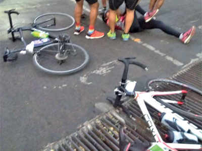 City cyclists demand cycle-friendly drain covers