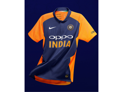 Cricket World Cup 2019: Indian team's new jersey revealed