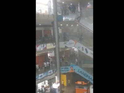 Mumbai: Fire breaks out at City Centre Mall in Mumbai Central